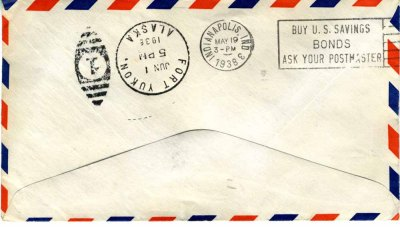 Kimble - Air Mail - Alaska back