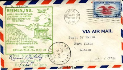 Kimble - Air Mail - Alaska
