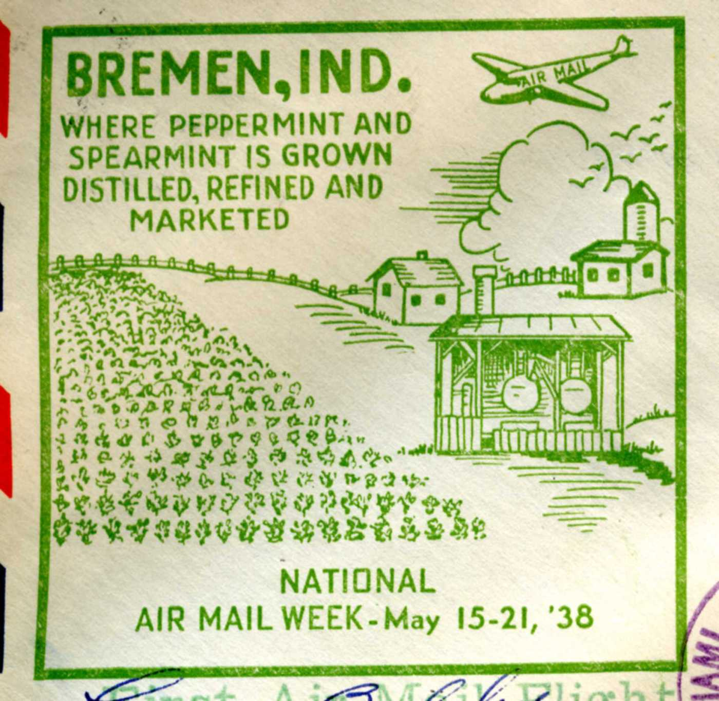 Kimble - Bremen Air Mail