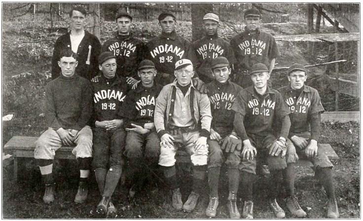 IU freshman baseball 1909