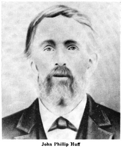 John Phillip Huff d1872