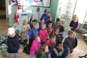 Mrs. McIntyre's 1st graders