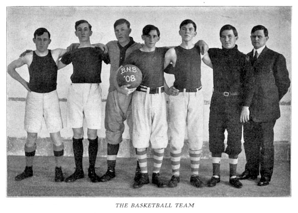 BHS 1908 basketball