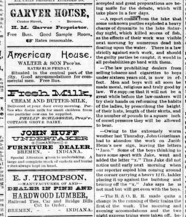Bremen Enquirer - 20 Jul 1899