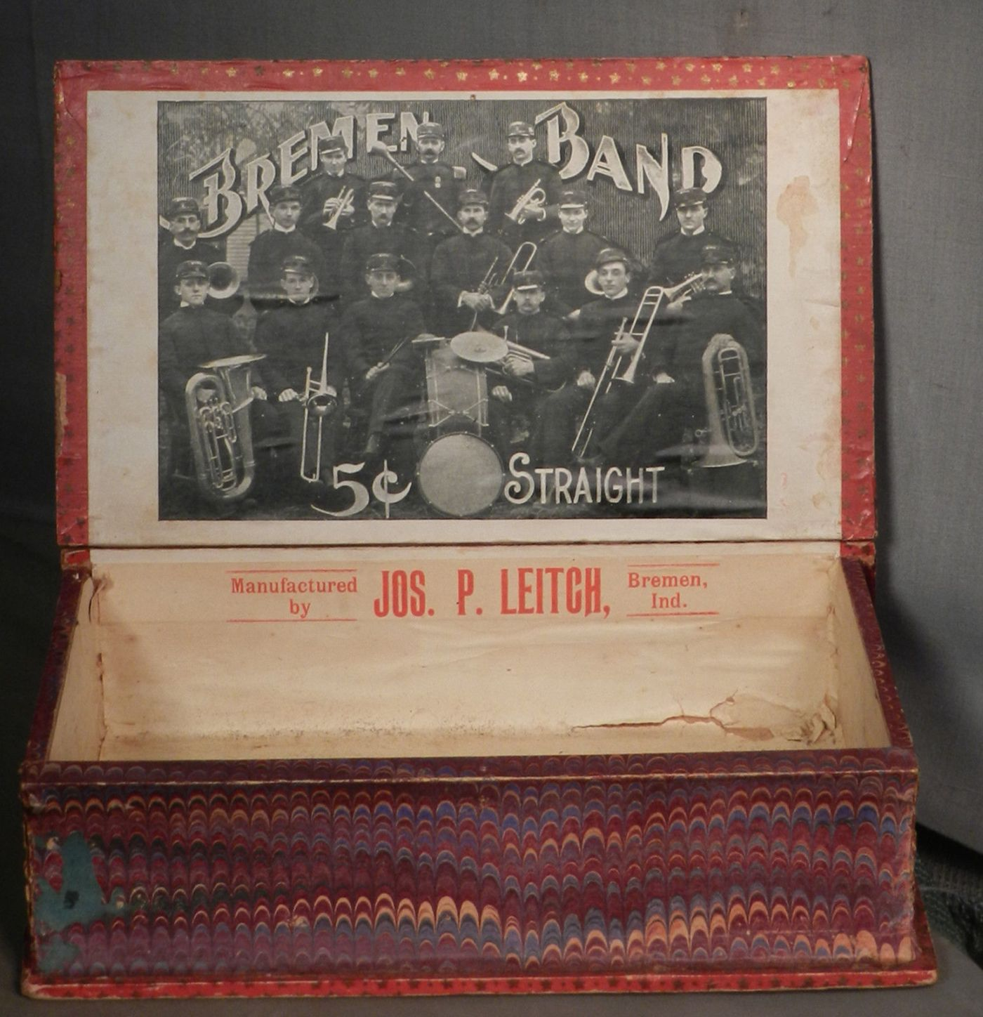 Leitch Cigar box