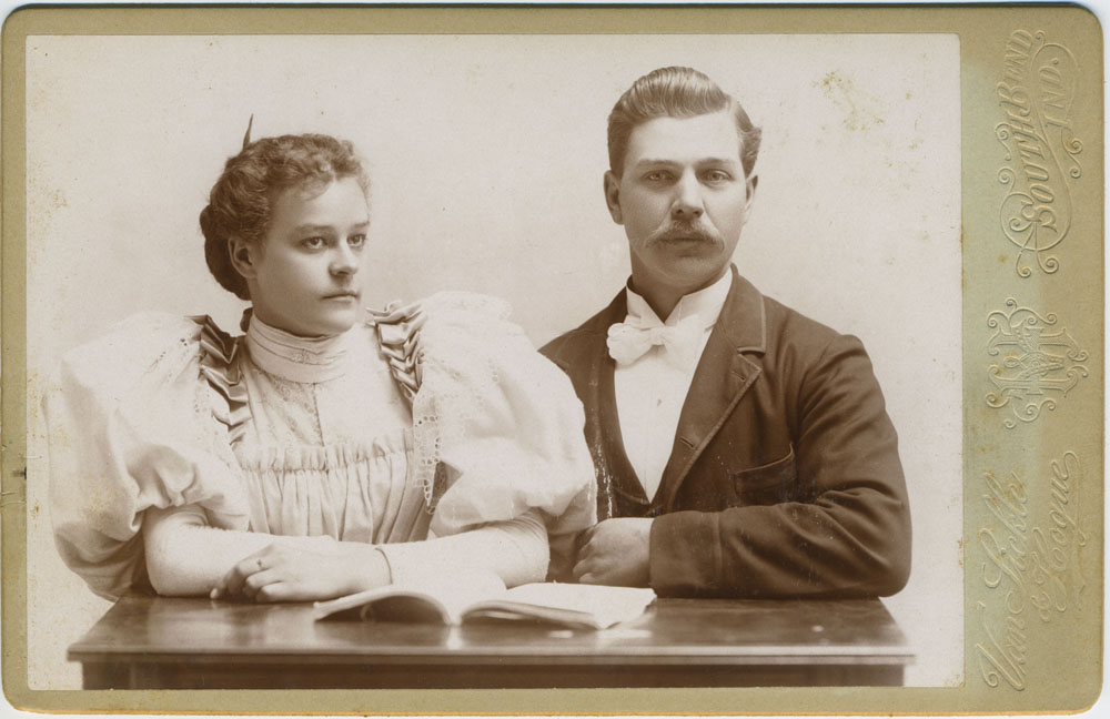 Ida and Charles Martin - original