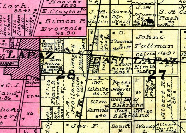East Lapaz - 1908