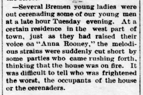 Anna Rooney singing - Enquierer - Sep_5__1890_