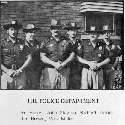 BPD 1971 (far right is Dale Hagenau)