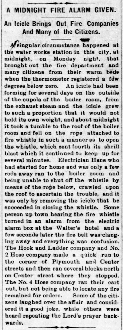 false alarm 1899