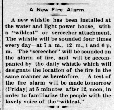 new whistle 1906