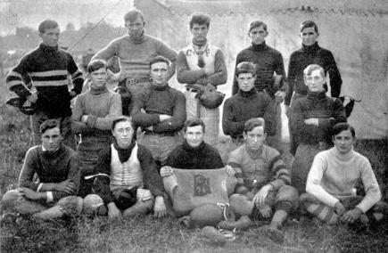 BHS - 1907 football team