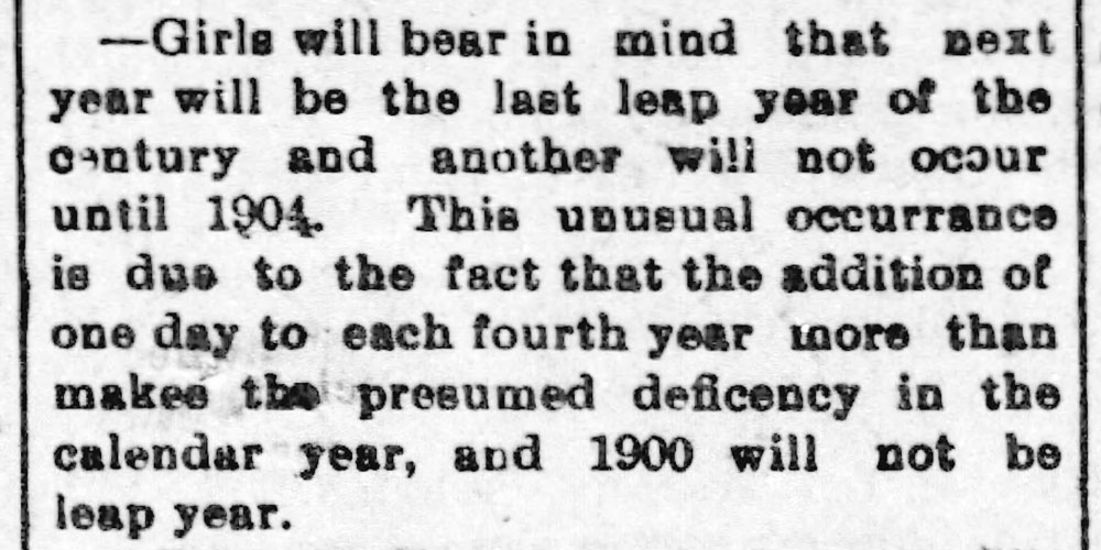 Leap year - girls propose - Enquirer_Fri__Nov_1__1895_