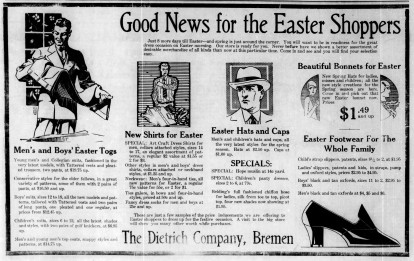Dietrich's Easter clothes - Enquirer_Thu__Mar_21__1929_