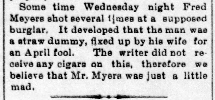 Fred Myers shoots straw dummy - Enquirer_Fri__Apr_9__1897_.jpg