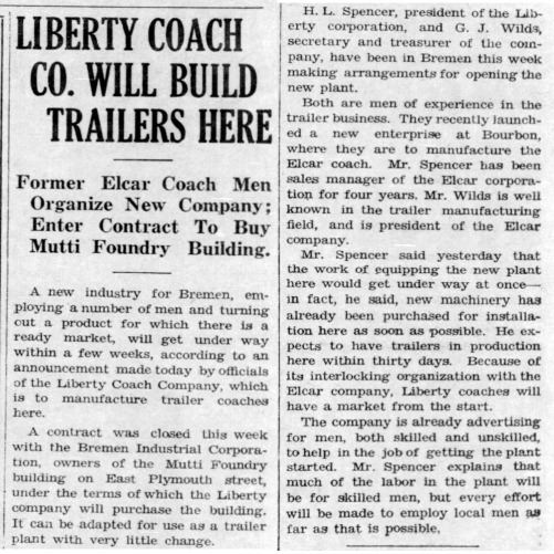 Liberty Coach starts - Enquirer_Thu__Apr_17__1941_