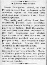 Improvements - 1909