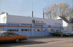1970s Bailey's Body Shop