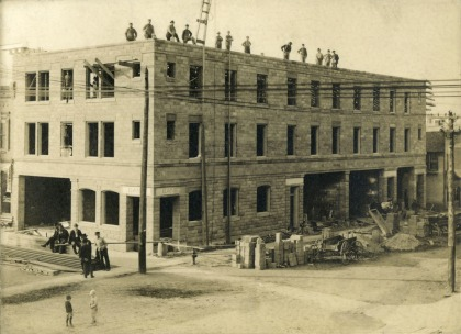 1910 construction of the Dietrich Hotel