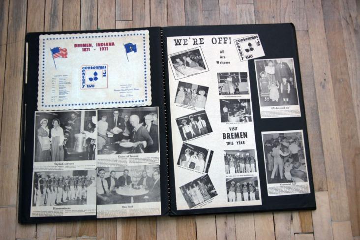 1971 Centennial scrapbook