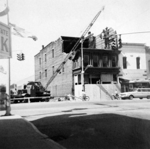Knoblock bldg renovation in 1966