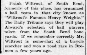 Wiltrout organizes fat baseball team - Enquirer_Thu__Jul_24__1919_